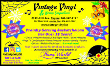 Vintage Vinyl and Hemp Emporium EXTENDED Hours in December