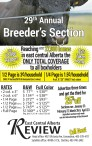 29th Annual Breeder's Section