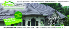 YOU WILL NEVER HAVE TO BUY ANOTHER ROOF AGAIN