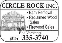 CIRCLE ROCK removal and sales