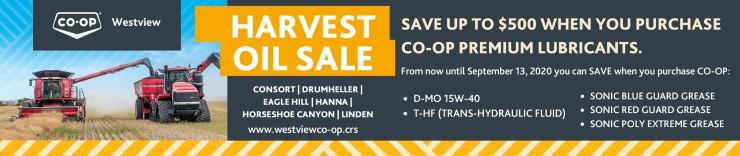 Co-op Westview Harvest Oil Sale