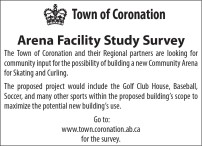 Town of Coronation Arena Facility Study Survey