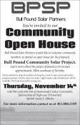 You're invited to our Community Open House