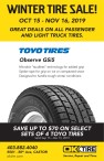 OK Tire WINTER TIRE SALE!