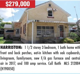1 1/2 Storey 3 Bedroom, 1 Bath Home