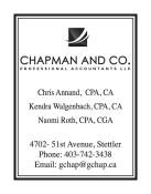CHAPMAN AND CO. PROFESSIONAL ACCOUNTANTS