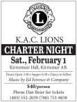 K.A.C. Lions Charter Night