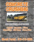 CONCRETE CRUSHING  RUBBLE MASTER 80 ON TRACKS