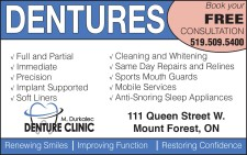 Book your FREE CONSULTATION at M. Durkalec Denture Clinic