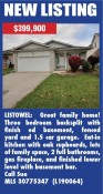 Listowel: Great family home!