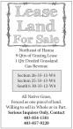 Lease Land for sale