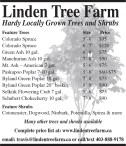 Hardy Locally Grown Trees and Shrubs